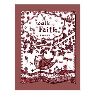 Faith 2 postcard