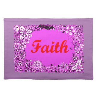 Faith 3 placemat