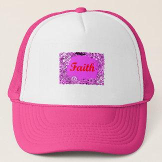 Faith 3 trucker hat