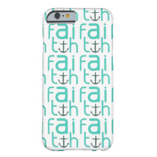 Faith Anchor Pattern iPhone 6 case Barely There iPhone 6 Case