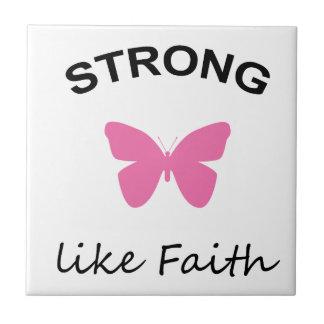 Faith and Folly Ceramic Tile