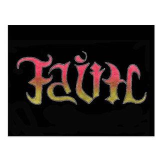Faith and Hope postcard