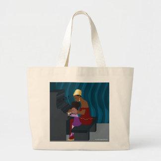 Faith and Nina Large Tote Bag