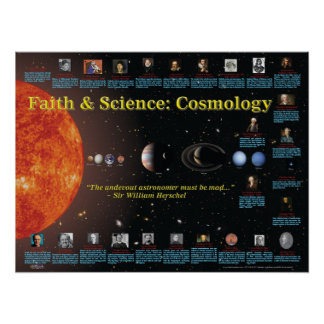 Faith and Science Cosmology Print