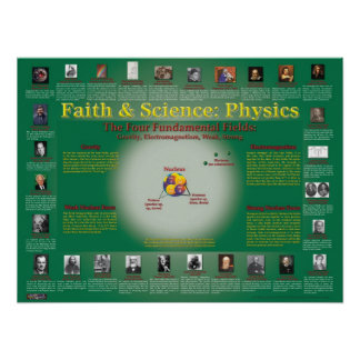 Faith and Science: Nuclear Physics Poster