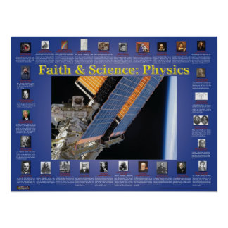 Faith and Science: Physics Poster