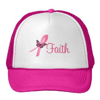 Faith Breast Cancer Awareness Hats