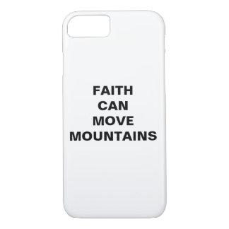 """Faith Can Move Mountains"" Apple iPhone 8/7 Case"