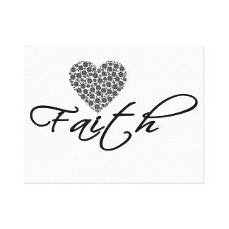 Faith Canvas Print, Wall Hanging, Home Decor