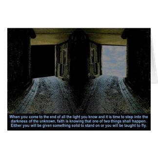 Faith, Card
