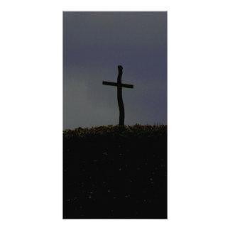 Faith card personalized photo card