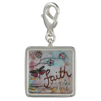 'Faith' charm
