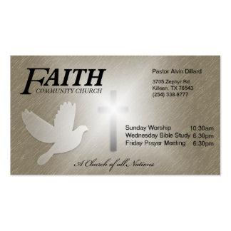 Faith Community Church Pack Of Standard Business Cards