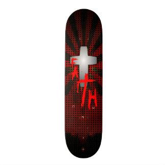 Faith Cross 18.1 Cm Old School Skateboard Deck