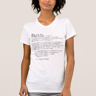 faith definition T-Shirt