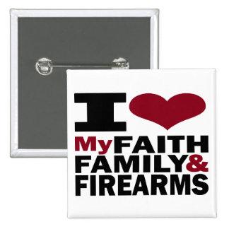 Faith, Family & Firearms Button