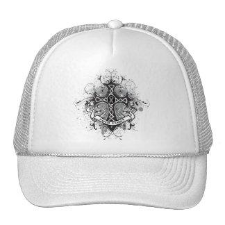 Faith Family Prayer Cross - Brain Cancer Hats