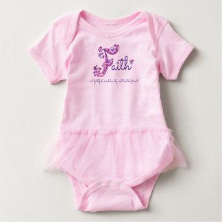 Faith girls name & meaning F monogram shirt