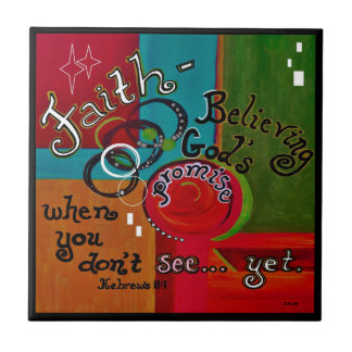 Faith Hebrews 11 Tile