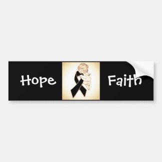Faith & hope bumper sticker