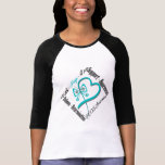 Faith Hope Love Butterfly - PCOS Awareness T Shirts