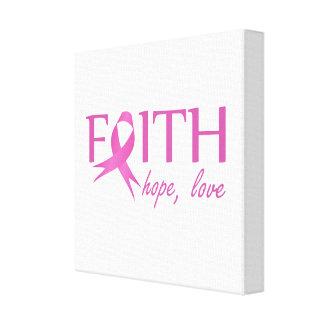 Faith,hope, love canvas print