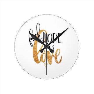 Faith,Hope & Love Clock