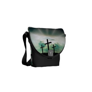 Faith Hope Love Cross Believe Destiny's Destiny Commuter Bags