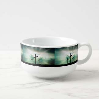 Faith Hope Love Cross Believe Destiny's Destiny Soup Mug