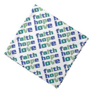 Faith Hope Love Greens Do-rags