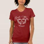 Faith Hope Love Heart Tshirts