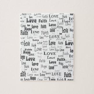 Faith Hope Love Jigsaw Puzzle