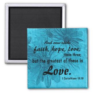 faith, hope, love magnet