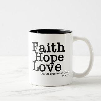 Faith Hope Love Mug