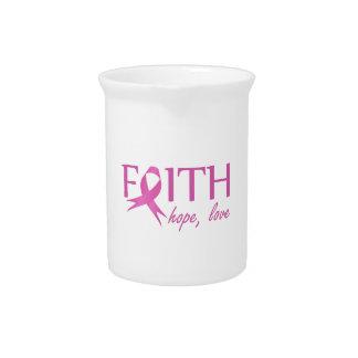 Faith,hope, love pitcher