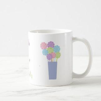 Faith Hope Serenity Basic White Mug