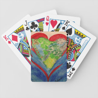 Faith in your Heart Bicycle Playing Cards