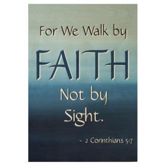 FAITH Inspirational Scripture Church Wall Art