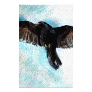 Faith is a raven stationery