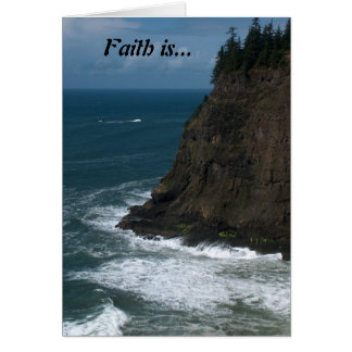 Faith is... card