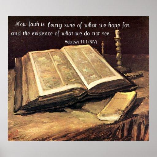 faith is... hebrews 11:1 print