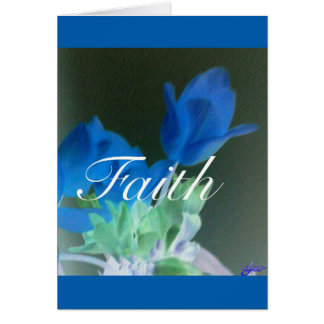Faith is.  . . . note card