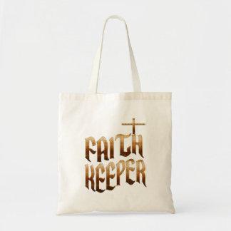 Faith Keeper Christian Budget Tote Bag