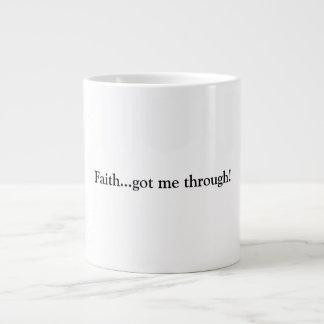 Faith Large Coffee Mug