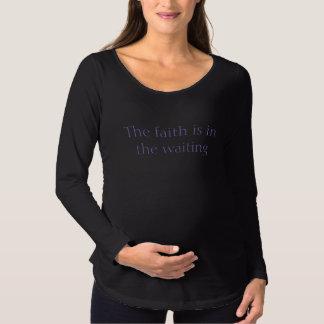 Faith -  Long Sleeve Maternity Women's Shirt