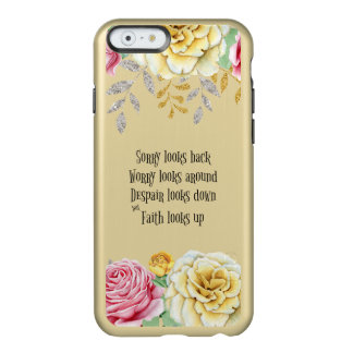 Faith Looks Up Quote Incipio Feather® Shine iPhone 6 Case