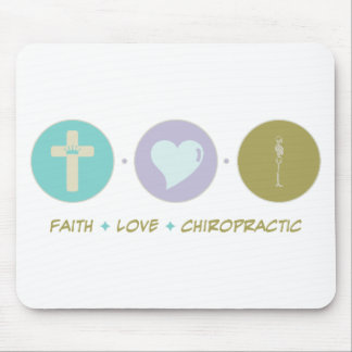Faith Love Chiropractic Mouse Pad