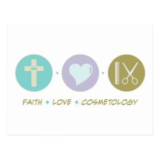 Faith Love Cosmetology Postcard