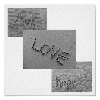 Faith, Love, Hope Poster