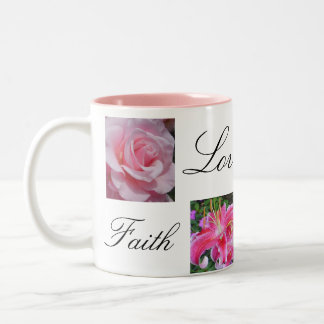 Faith Love Joy Hope Two-Tone Mug